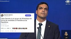 6 pérolas do Cabo Daciolo no debate da
