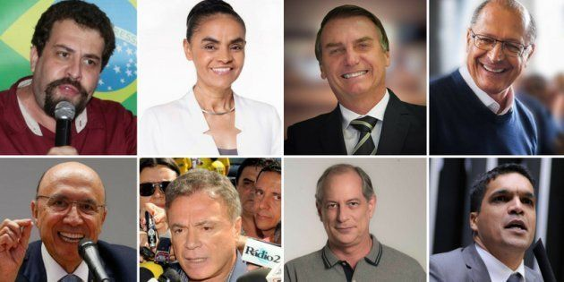 No total, 8 presidenciáveis participaram do debate da