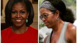 Michelle Obama de cabelos naturalmente crespos é a Michelle que todos