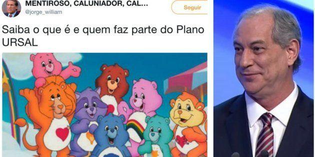 Memes sobre o que seria Ursal e gifs de Ciro Gomes tomaram grupos de