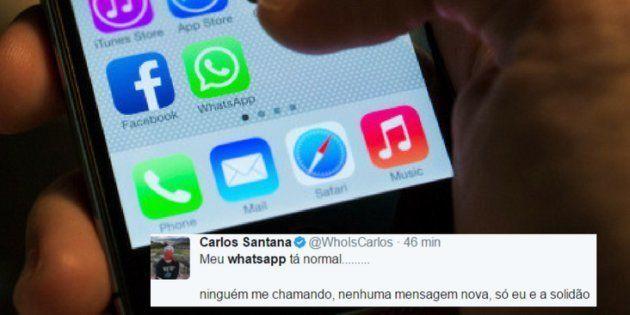 O aplicativo de troca de mensagens apresentou novo quadro de instabilidade nesta quarta-feira