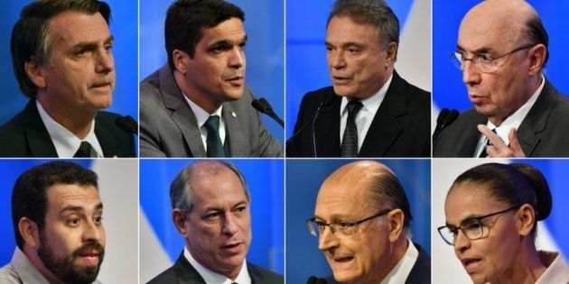 2º confronto teve Bolsonaro, Daciolo, Alvaro Dias, Meirelles, Boulos, Ciro, Alckmin e Marina na