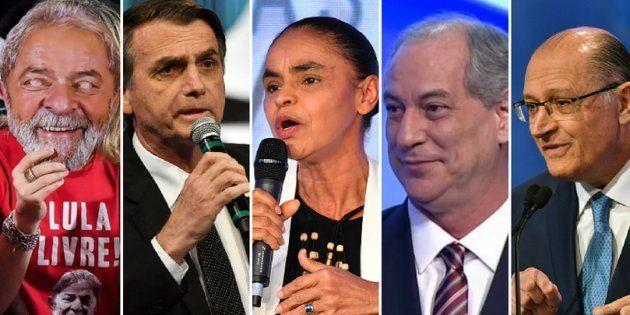 Ibope aponta liderança de Lula, vice-liderança de Bolsonaro e Marina, Ciro e Alckmin