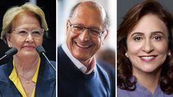 Após trocar Angélica por Eliana, Alckmin confunde sua vice com a de