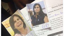 Um professor de BH colocou um meme da Gretchen para cada nota das provas de seus