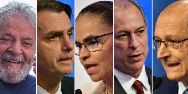 Pesquisa Datafolha mostra Lula na liderança, Bolsonaro em 2º lugar e Marina, Ciro e Alckmin