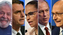 Datafolha: Lula, 39%, Bolsonaro, 19%, Marina, 8%, Alckmin, 6%, e Ciro,
