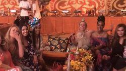 O vídeo das amigas e as melhores fotos do chá de bebê da