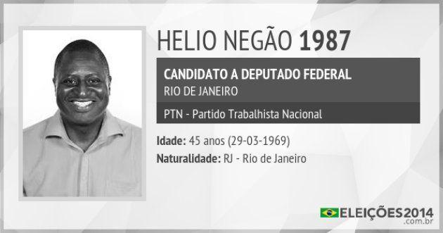Hélio se candidatou a deputado federal em 2014, quando ainda não era Bolsonaro nem filiado ao