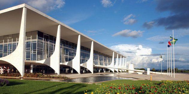 O Palácio do Planalto é a sede da Presidência da