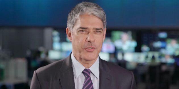 William Bonner comanda sabatina do Jornal Nacional com