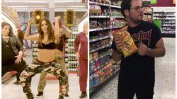 As pessoas estão dançando 'Paradinha' no supermercado como se não houvesse