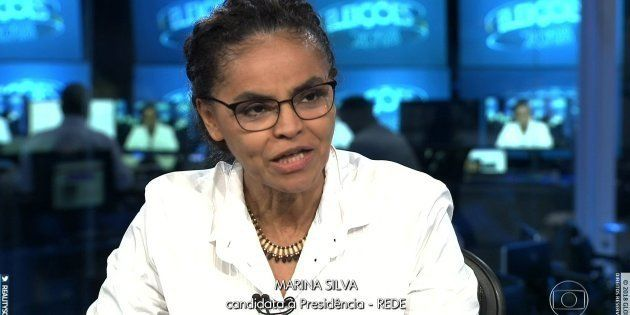 Marina Silva foi a 4ª candidata entrevistada pelo Jornal