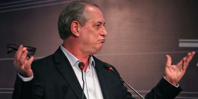 Ciro Gomes diz que solução da crise fiscal passa necessariamente pela reforma da