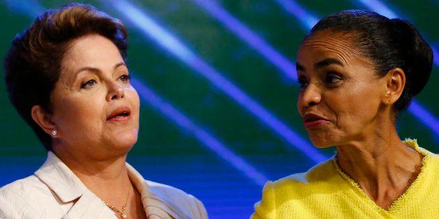 Dilma Rousseff ataca Marina Silva pelo