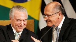 Temer ficou pistola com Alckmin: 'Falsidades... Você era