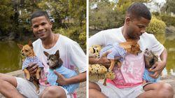 O Estopinha Capixaba fez um ensaio fotográfico em família que é '50% ódio, 50%