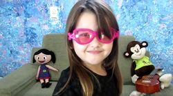 Liv tem apenas 5 anos e muito a te ensinar sobre 'brinquedos de menina e