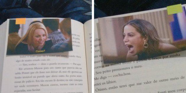 Esta menina encontrou o melhor incentivo à leitura