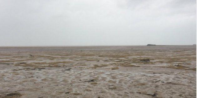 Ilha nas Bahamas ficou sem mar nos últimos