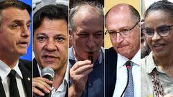 Datafolha: Bolsonaro, 28%, Haddad, 16%, Ciro, 13%, Alckmin, 9%, e Marina,