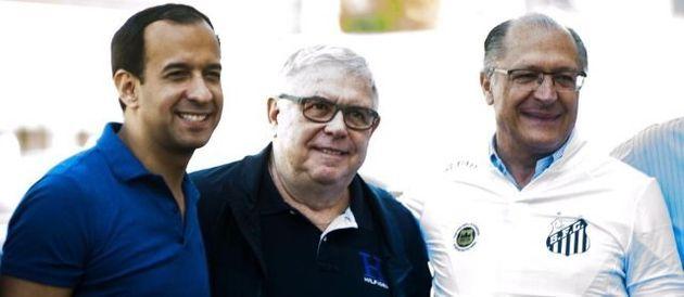 Geraldo Alckmin é torcedor do Santos Futebol