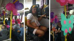 O dia em que passageiros fizeram um 'chá de bebê' improvisado em um ônibus do