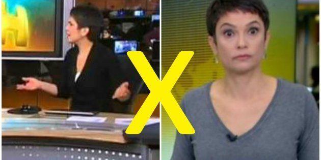 Precisamos decidir qual é o melhor meme de Sandra Annenberg no Jornal