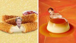 Este Instagram faz uma mistura perfeita de Meryl Streep com comidas