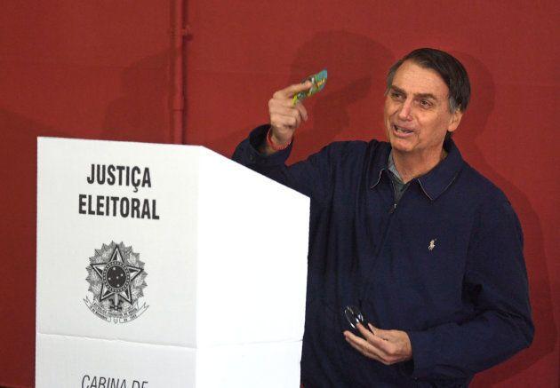 Segundo Ibope, Jair Bolsonaro (PSL) tem 36% das intenções de