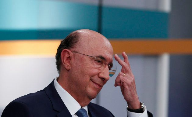 Henrique Meirelles (MDB) participa de debate eleitoral na Record TV, em São