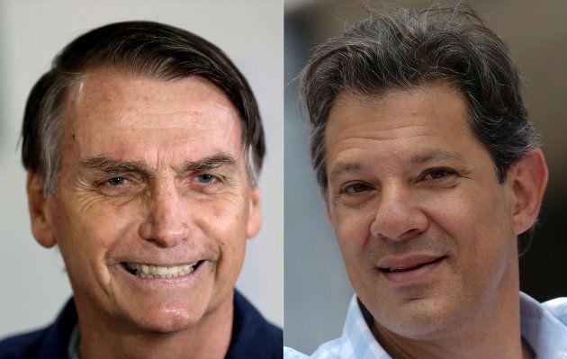 Jair Bolsonaro (PSL) disputará segundo turno com Fernando Haddad