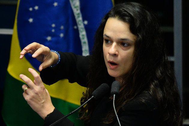 Janaina Paschoal, co-autora do pedido de impeachment da presidente Dilma Rousseff, foi eleita deputada...