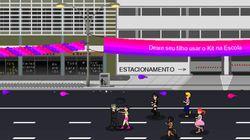 Em jogo, avatar de Bolsonaro espanca mulheres, negros e
