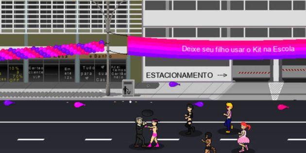 O objetivo do jogo é fazer com que o personagem, um avatar do capitão reformado Jair