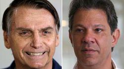 Ibope: Bolsonaro, 59% dos votos válidos e Haddad,