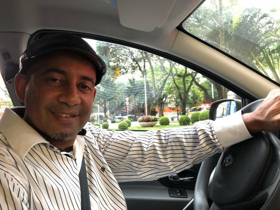 Marcelo Amador, motorista de aplicativo, votará em Jair Bolsonaro no 2º
