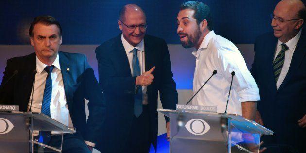 Geraldo Alckmin, Guilherme Boulos e Henrique Meirelles já falaram sobre vitória de