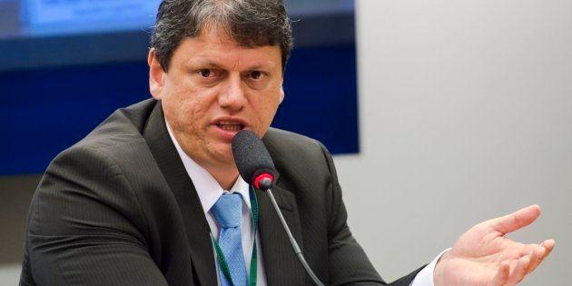 O ex-diretor do Departamento Nacional de Infraestrutura de Transportes (DNIT) Tarcísio Gomes Freitas,...