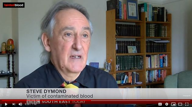 A committed campaigner, Steve Dymond featured in many TV and newspaper
