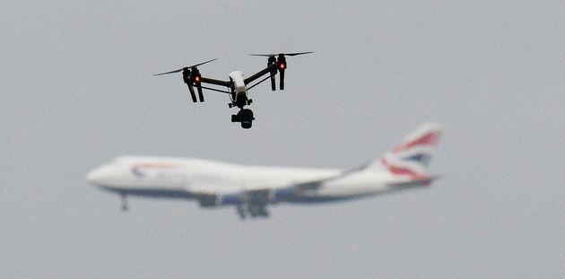 Suspected drone sightings caused chaos at Gatwick Airport last month