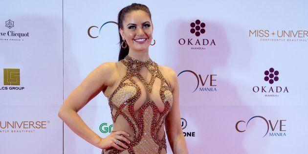 Miss Canada Siera Bearchell foi criticada por