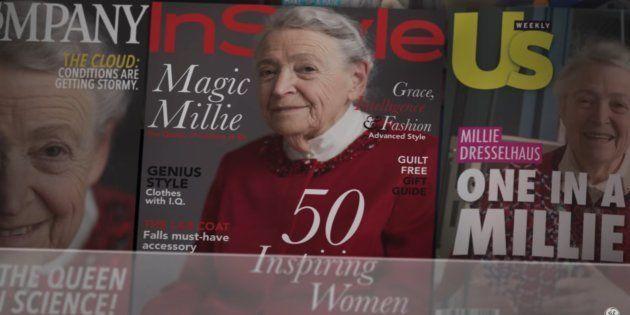 Este comercial imagina um mundo onde mulheres cientistas são tratadas como