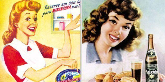 Publicidade do séc. 20 mirava mulheres como donas de casa ou objetos de desejo dos homens; será que mudou