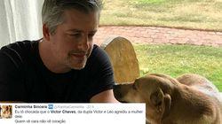 Victor Chaves. Uma denúncia de agressão à mulher. E a decepção dos fãs nas redes