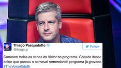 Após denúncia de agressão, Victor Chaves se afasta do The Voice