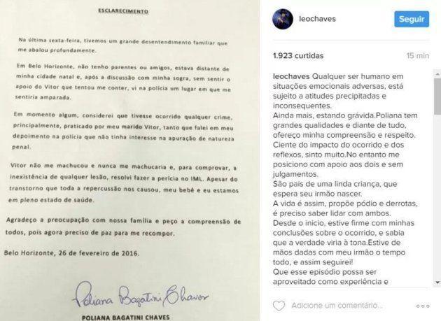 A 'carta de esclarecimento' de Poliana Bagatini sobre denúncia de