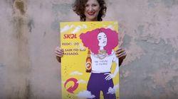 Fim da ~gostosa da cerveja~: Skol aposta na criatividade das mulheres no dia