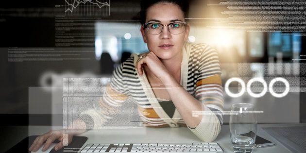 A educação de alta tecnologia para mulheres é
