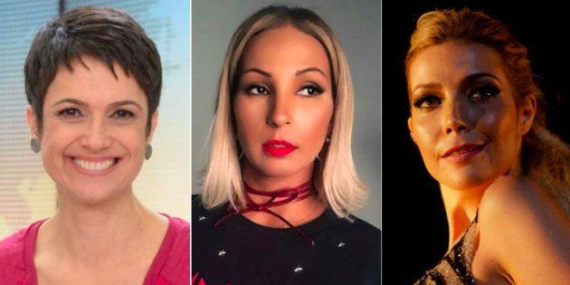 Sandra Annenberg, Valesca Popozuda e Luiza Possi: Em comum, todas têm pelo menos um caso de assédio para